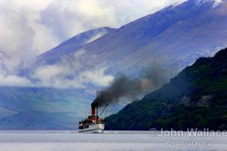 Steamship Lake Wakatipu New Zealand