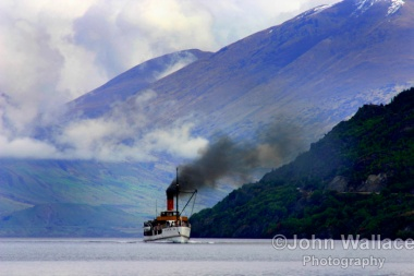 Steamship Lake Wakatipu New Zealand