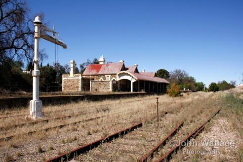 Abandoned Railstation