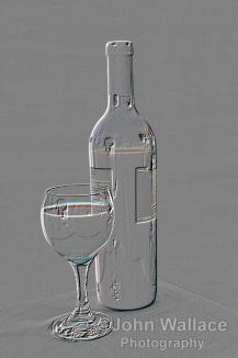 Wine in relief