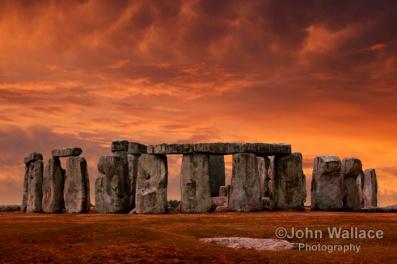 Stonehenge Sunset England