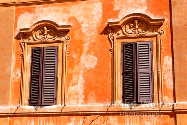 Ornate Windows, Rome