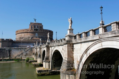 Saint Angelo Bridge Rome