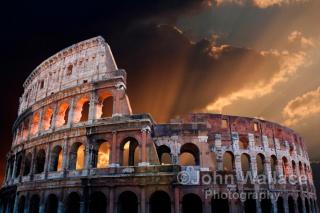 The Coliseum of Ancient Rome