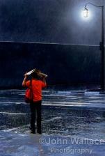 Evening rainstorm