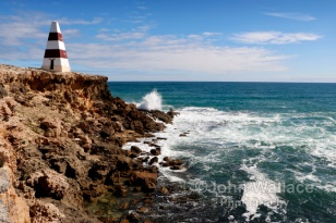Situated in Robe at Cape Dombey, South Australia. Built in 1852 given the coasts notoriety for ship wrecks the Obelisk was used to store rockets which were fired to distressed ships. The rockets carried lifelines and baskets for bringing passengers ashore.