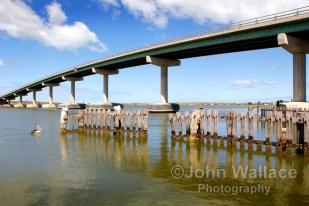 Bridge across to Hindmarsh Island, South Australia