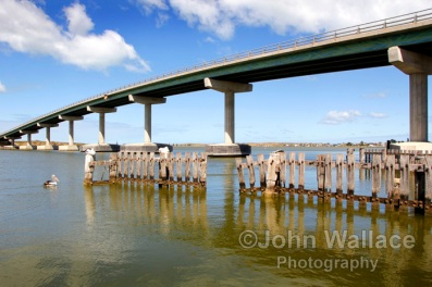 Bridge across to Hindmarsh Island