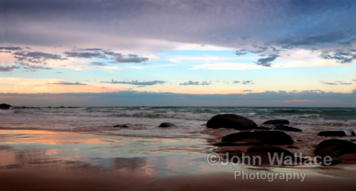Queensland Evening Beach, Australia