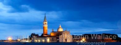 Evening at San Giorgio Church Maggiore