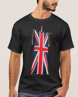 United Kingdom Flag T-Shirt (Zazzle)