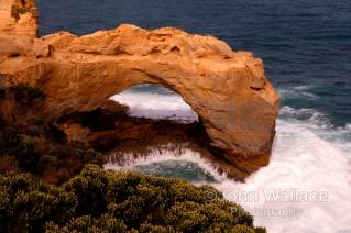 Coastal Rock Formation