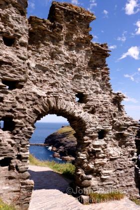 Tintagel Castle Gateway