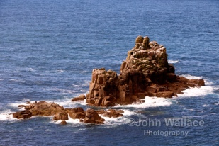 Land's End Rocky Coastline