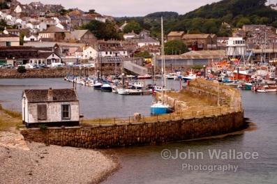 Newlyn Harbour UK