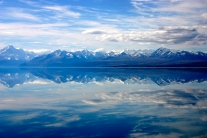A view across Lake Pukaki and Mount Cook, New Zealand