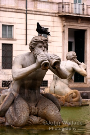 Two of the four Tritons (Rome)