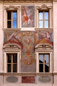 Rome building decoration