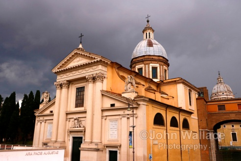 The Church of San Rocco (Rome)