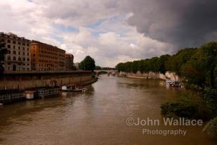 The River Tiber in Rome