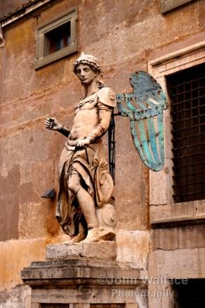 Saint Michael Statue (Rome)