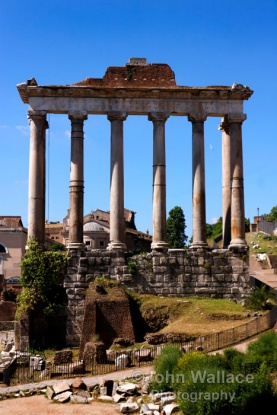 The Temple of Saturn (Rome)