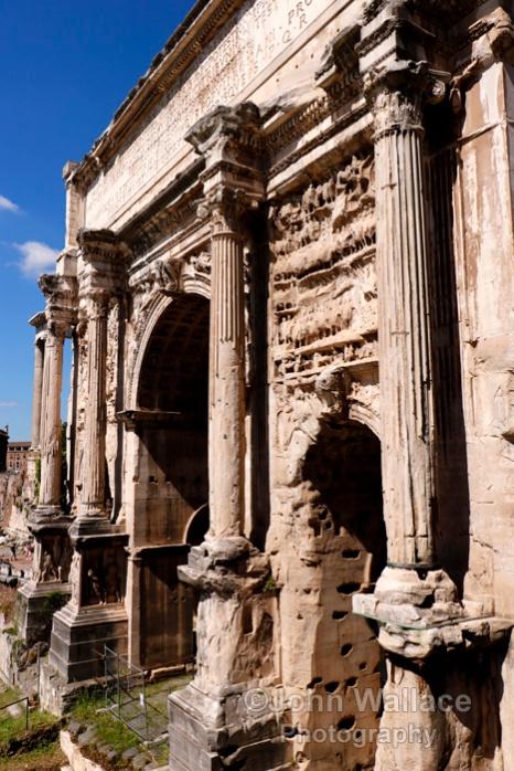 The Arch of Septimius Severus (Rome)