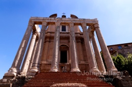 The Temple of Antoninus and Faustina (Rome)