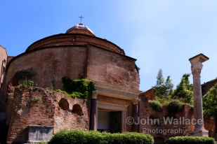 The Temple of Romulus (Rome)
