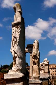 Roman Forum Statues (Rome)