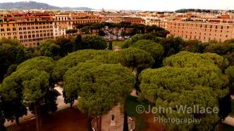Rome City Skyline