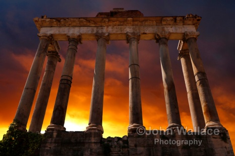 Temple of Saturn Ruins (Rome)