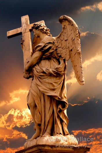 Angel with the Cross (Rome)