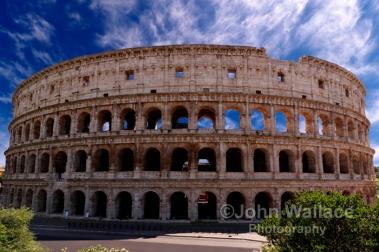 The Coliseum of Rome