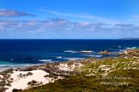 The beauty of the unspoilt coastline at Sea Bay on Kangaroo Island, South Australia