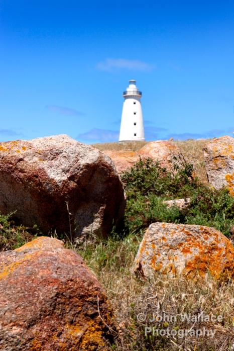 Cape Willoughby Lighthouse on Kangaroo Island, South Australia