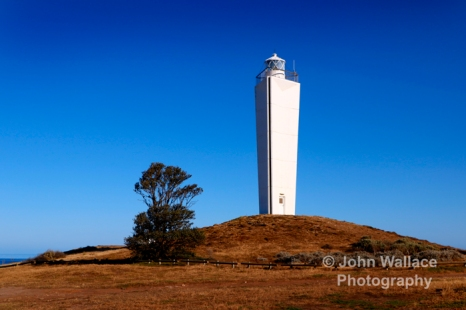 The lighthouse at Cape Jervis on the Fleurieu Peninsula South Australia, built in 1871