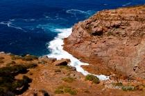 The rocky coastal headland of Cape Willoughbyon Kangaroo Island, South Australia