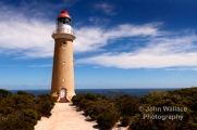 The lighthouse at Cape du Couedic, Kangaroo Island, South Australia, established in 1909