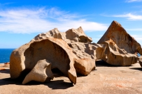 Remarkable Rocks is a set of 500 million year old sculptured granite boulders set in the Flinders Chase National Park on Kangaroo Island South Australia