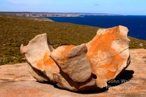 Remarkable Rocks is a set of 500 million year old sculptured granite boulders set in the Flinders Chase National Park on Kangaroo Island South Australia