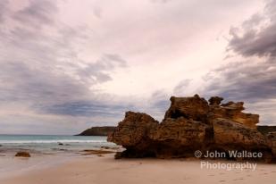 Evening light at Pennington Bay, Kangaroo Island, South Australia