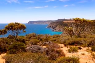 The beautiful unspoilt coastline of Kangaroo Island, South Australia