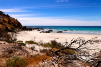 Snelling Beach on Kangaroo Island, South Australia