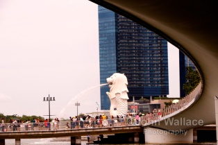 Merlion in Singapore