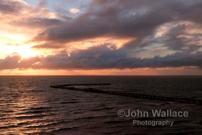 Evening light at Moonta Bay South Australia