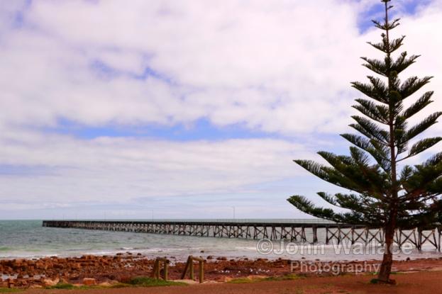 Pier at Port Hughes South Australia