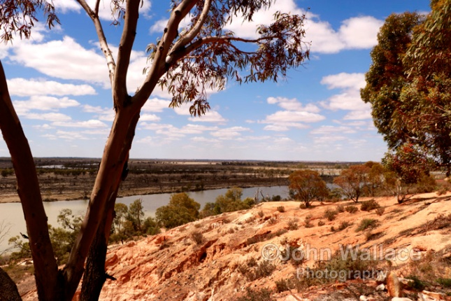 Viewpoint on the River Murray in South Australia
